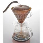 これからの季節は「ハンドドリップコーヒー」メニューから「アイス」を選択→飲み比べがオススメ!!