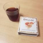 おうちカフェ☕『バチェラー』見ながら食べるブリュレが涙でちょっと塩味。アイスコーヒーがすすみます。